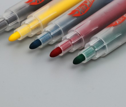 Wholesale Vivid fabric marker permanent art pens with custom logo